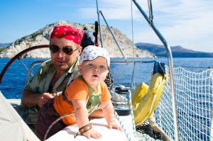 Szelki asekuracyjne dla dzieci na jacht