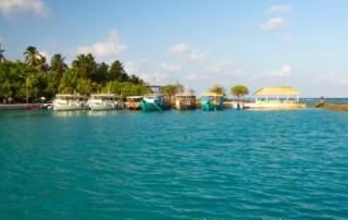 Wyspa piknikowa na Malediwach