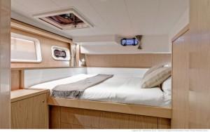 katamaran na Seszelach Lagoon 39 - kabina