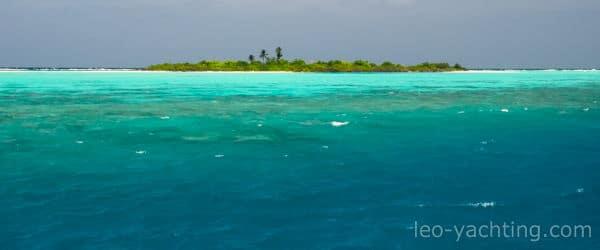 Trukusowe morze - tak kojarzą się Malediwy