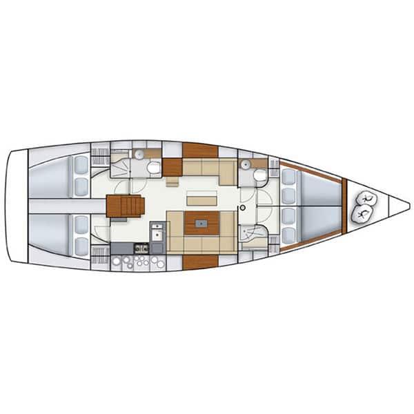 Jacht Hanse 445