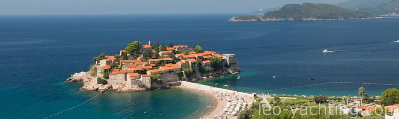 Czarter jachtów Czarnogóra - Święty Stafan