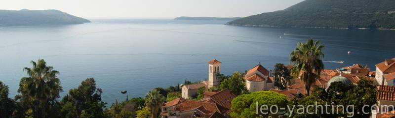 Czartery w Czarnogórze