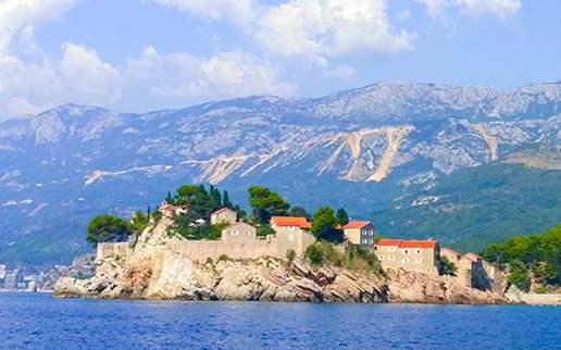czartery jachtów w Czarnogórze - Święty Stefan