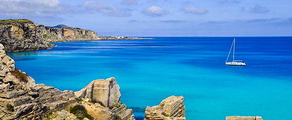czarter jachtów na Sycylii - Egady