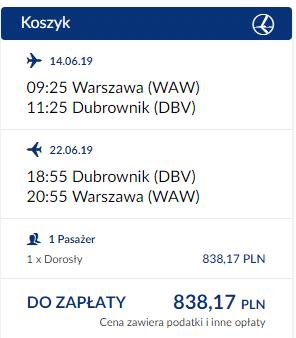 czartery-jachtow-w Dubrowniku-loty