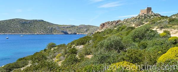 Park Cabrera czartery jachtów na Balearach