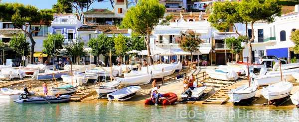 wynajem jachtu w Hiszpanii- Costa Brava
