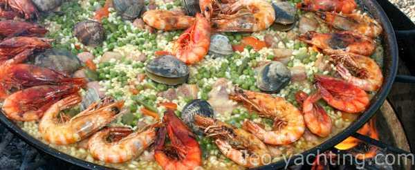 Potrawa Hiszpańska - Paella