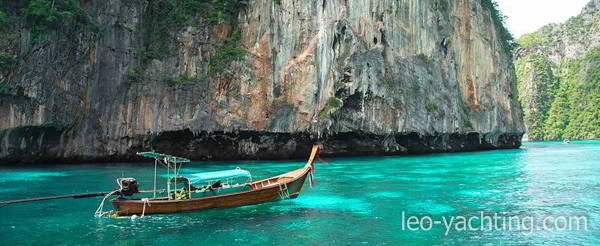 czarter jachtów w tajlandii - łodzie długoogonowe