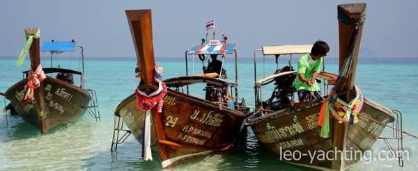 jachty tajlandia