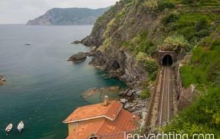 Vrrnazza, Cinque Terre, Liguria, Włochy