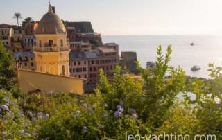 Czarter Liguria, Cinque Terre, Włochy