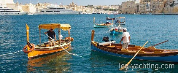 Wodne taksówki - jachty Malta