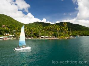 Marigot Bay - czarter jachtów St. Lucia