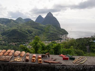 Mały i Wielki Piton - symbol St. Lucia