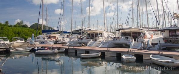 Czarter na Karaibach - marina Du Marin, Le marin, Martynika