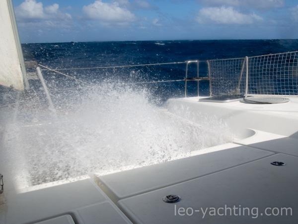 czarter na Karaibach - żeglarskie emocje