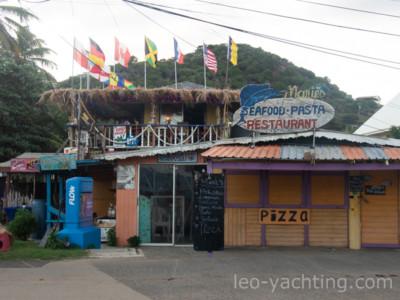Union Island - kawiarnie, restauracje, sklepy