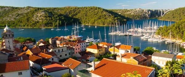 Czarter w Chorwacji - Skradin i rzeka Krka