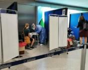 badanie na lotnisku w Grecji