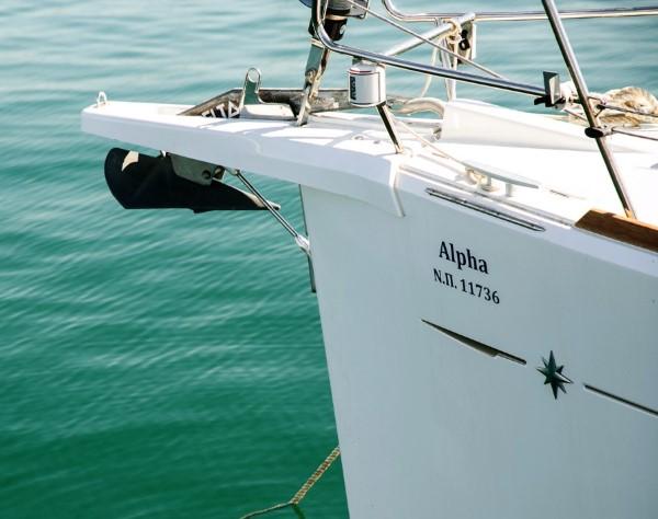 Jacht Sun Odyssey 449 - rozwiązania na dziobie