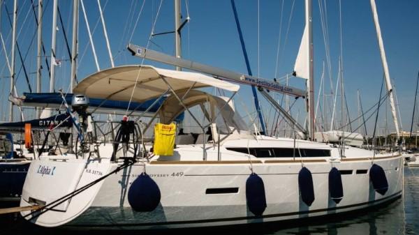 Jacht Sun Odyssey 449 - zgrabna sylwetka