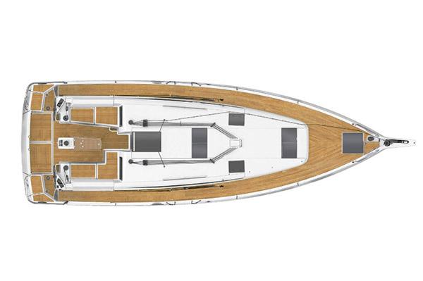 jacht Sun Odyssey 440 pokład