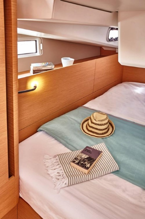 Sun Odyssey 440 - kabina
