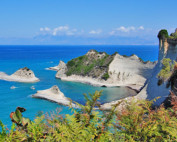 Korfu - klify