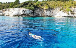 Rejs jachtem Korfu