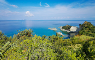 Przylądek Drastis na Korfu
